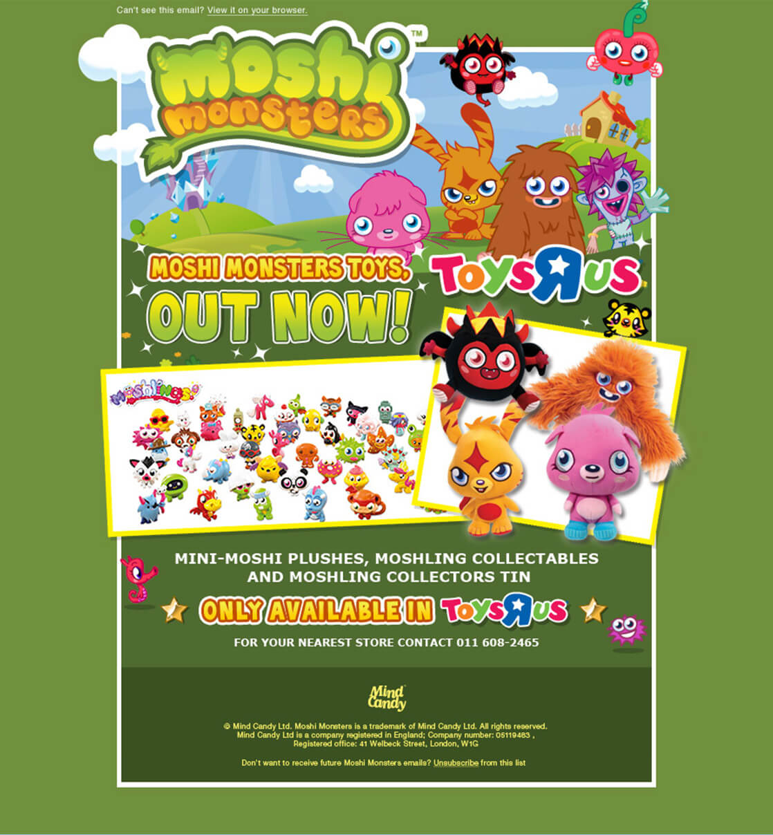 Moshi Monsters Email
